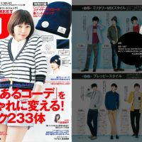 MEI bag has been showed in Magazine of STREET JACK that issued in June.